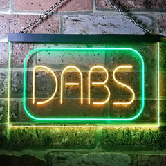 Medical Marijuana Dabs LED Neon Light Sign