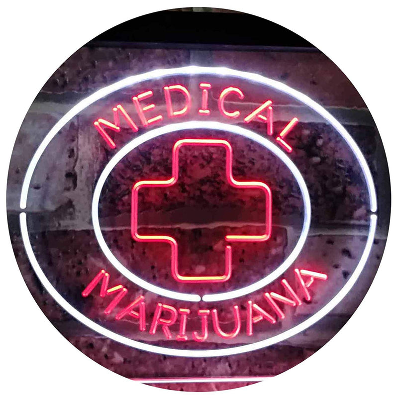 Medical Marijuana LED Neon Light Sign - Way Up Gifts