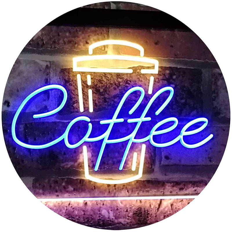 Coffee LED Neon Light Sign - Way Up Gifts
