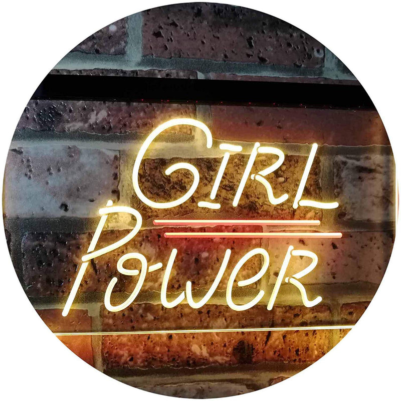 Girl Power LED Neon Light Sign - Way Up Gifts