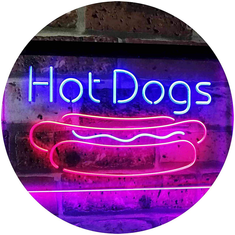 Hot Dogs LED Neon Light Sign - Way Up Gifts