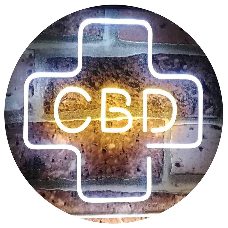 CBD LED Neon Light Sign - Way Up Gifts