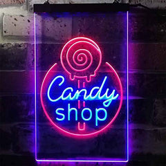 Candy Shop LED Neon Light Sign