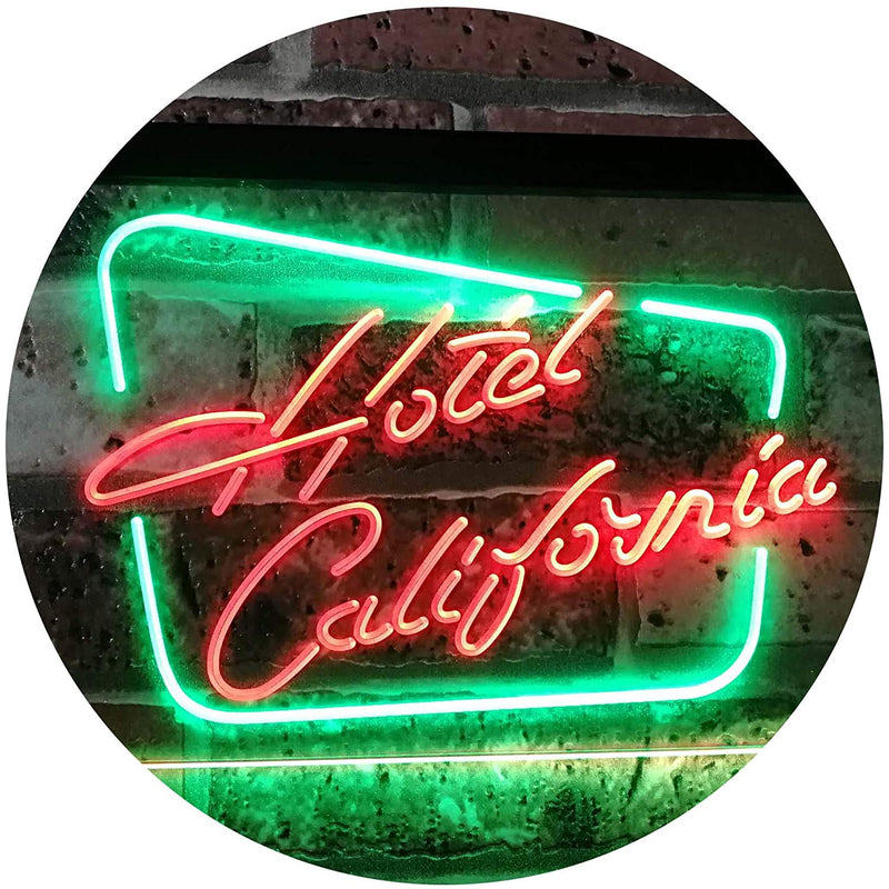 Hotel California LED Neon Light Sign - Way Up Gifts