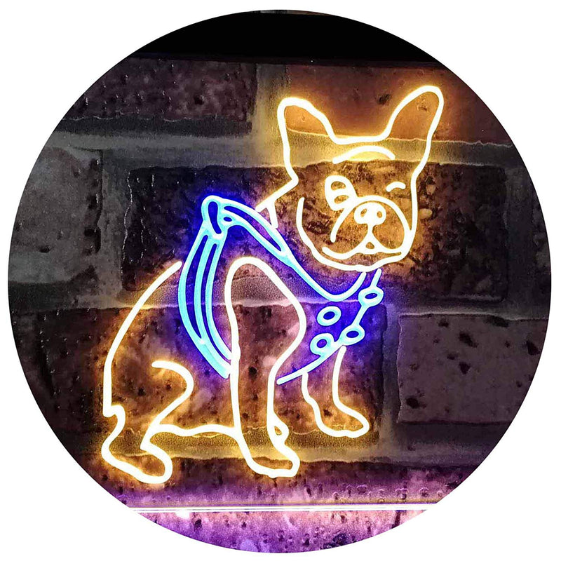 French Bulldog LED Neon Light Sign - Way Up Gifts