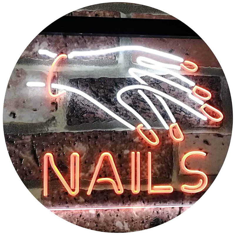 Salon Nails LED Neon Light Sign - Way Up Gifts