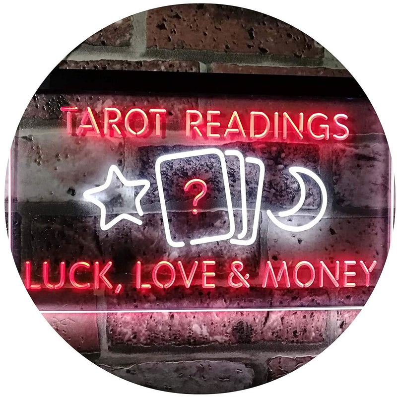 Psychic Tarot Readings LED Neon Light Sign - Way Up Gifts