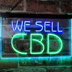 We Sell CBD LED Neon Light Sign