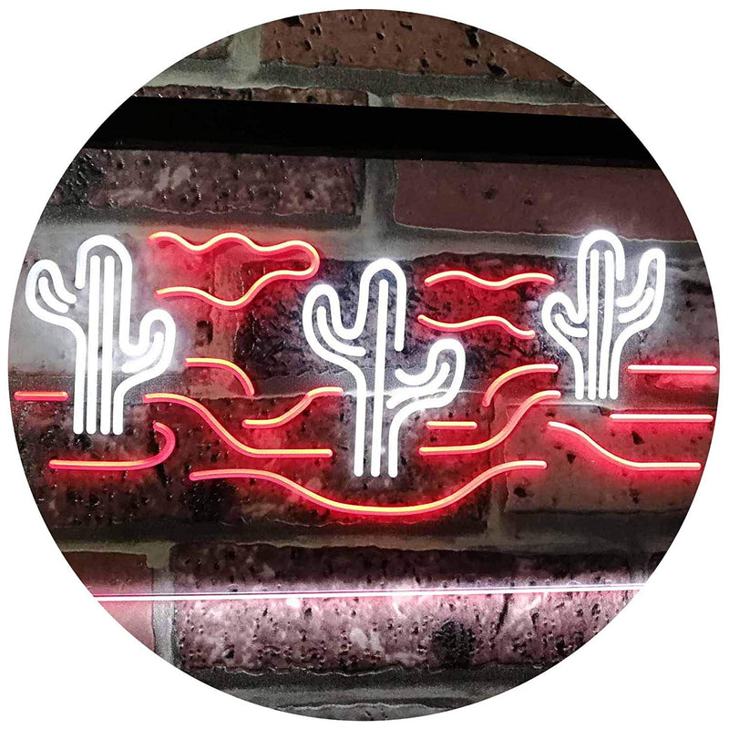 Desert Cactus LED Neon Light Sign - Way Up Gifts