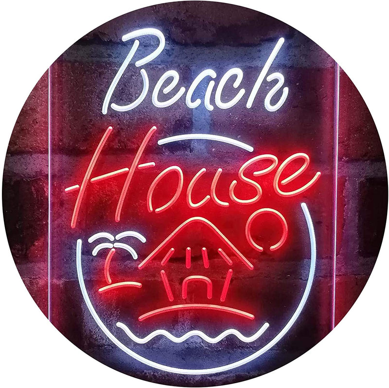 Vacation Beach House Decor Display LED Neon Light Sign - Way Up Gifts