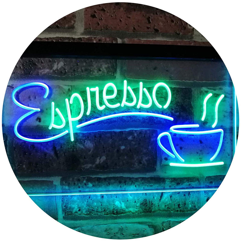 Coffee Espresso LED Neon Light Sign - Way Up Gifts