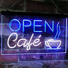 Café Open LED Neon Light Sign
