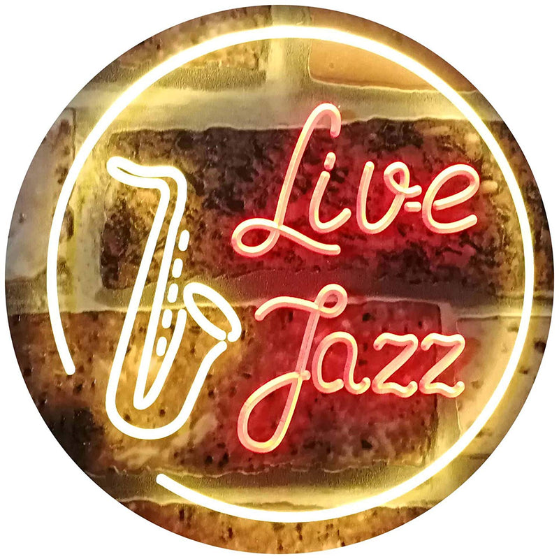 Music Live Jazz LED Neon Light Sign - Way Up Gifts