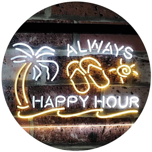 Always Happy Hour LED Neon Light Sign - Way Up Gifts