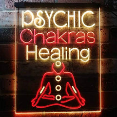 Psychic Chakras Healing LED Neon Light Sign