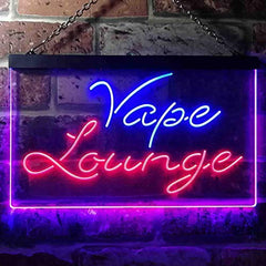 Vape Lounge LED Neon Light Sign