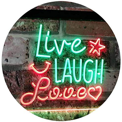 Live Laugh Love LED Neon Light Sign - Way Up Gifts