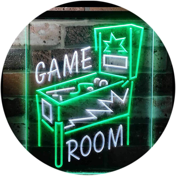 Pinball Game Room LED Neon Light Sign - Way Up Gifts