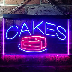 Bakery Cakes LED Neon Light Sign