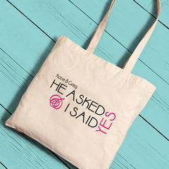 Personalized Brides Perfect Tote