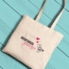 Personalized Bridesmaid Perfect Totes