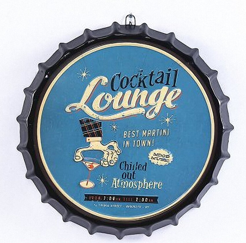 Vintage Cocktail Lounge Sign - Way Up Gifts