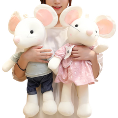 Big Cute Mouse Stuffed Animal Toy Doll