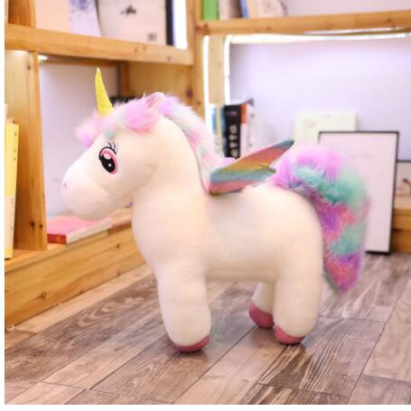 Unicorn Stuffed Animal with Wings - Way Up Gifts