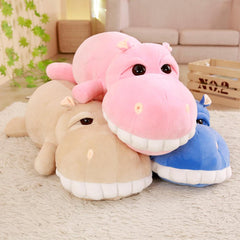 Big Stuffed Animal Hippo Plush