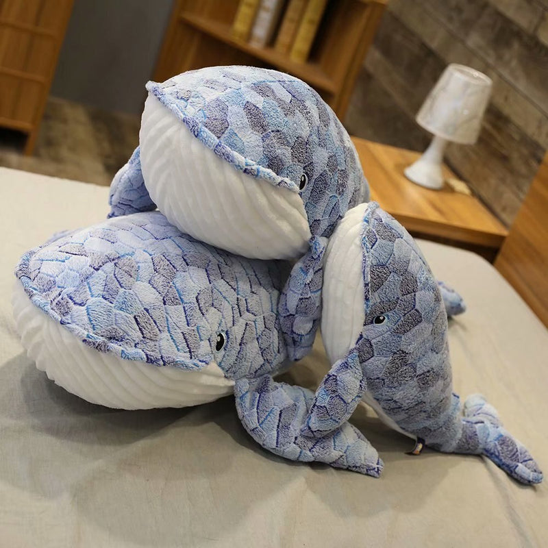Giant Whale Stuffed Animal Plush - Way Up Gifts