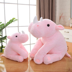 Soft Rhinoceros Rhino Stuffed Animal Plush