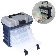 Big Multifunction Fishing Tackle Box & Storage Container