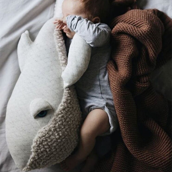 Premium Quality Big Stuffed Whale Plush Toy Animal  Giant Plush Toy - Way Up Gifts