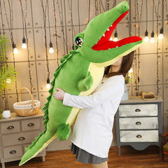 Giant Stuffed Animal Alligator / Crocodile Plush