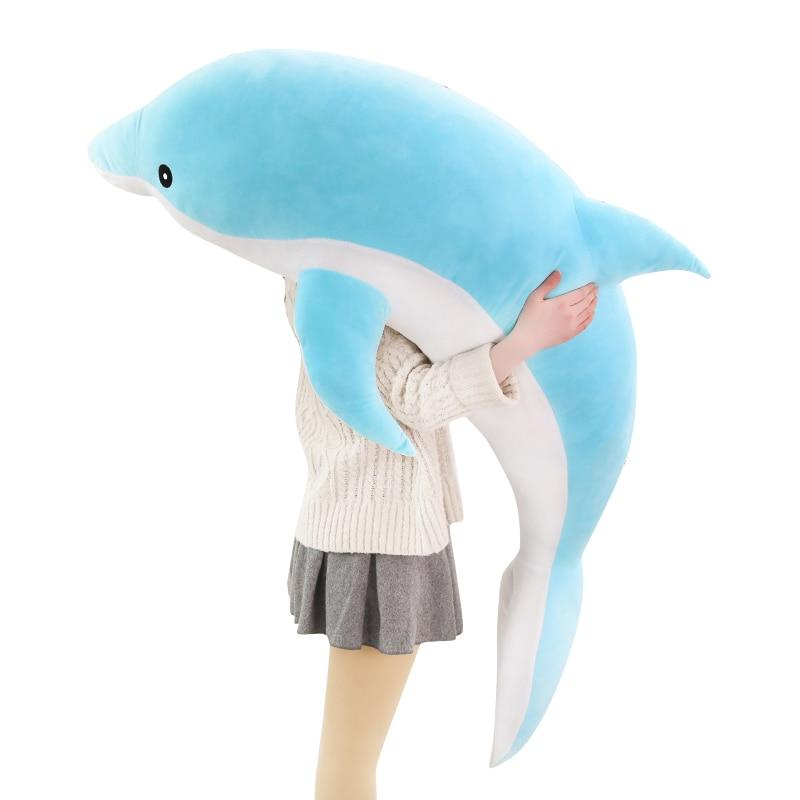 Giant Dolphin Stuffed Animal - Way Up Gifts