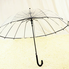 Romantic Transparent Clear Umbrella