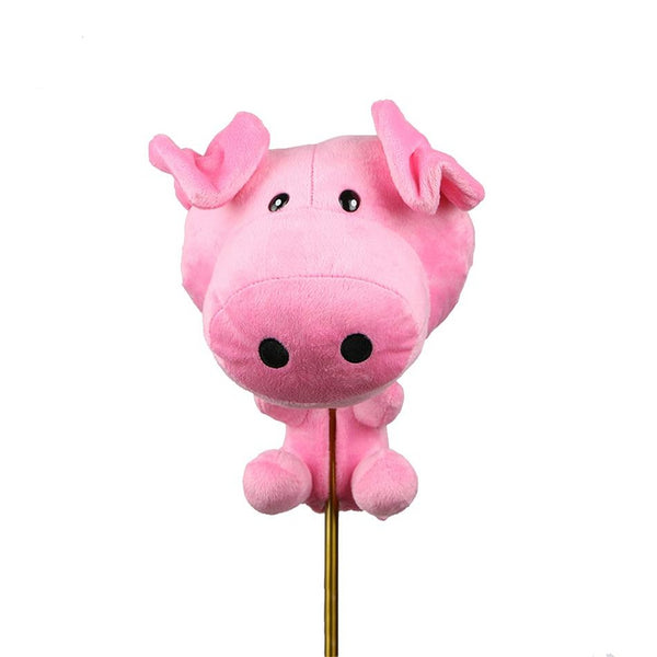 Plush Animal Pig Golf Driver Head Cover - Way Up Gifts