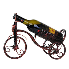 Vintage Bicycle Metal Wine Rack Bottle Holder