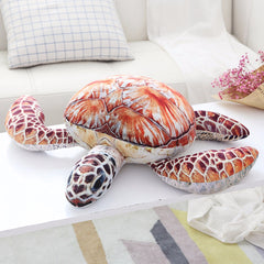 Realistic Sea Turtle Stuffed Animal Plush Toy