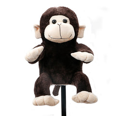 Plush Animal Monkey Golf Driver Head Cover