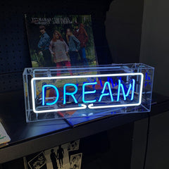 8 Styles Neon Sign in Acrylic Box