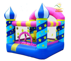 Inflatable Girls Bounce House Moonwalk Bouncy Castle