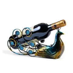 Unique Creative Metal Wine Rack Bottle Holders