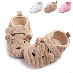Baby Infant Shoes Soft Sole Non-Slip Cute Animal Slippers