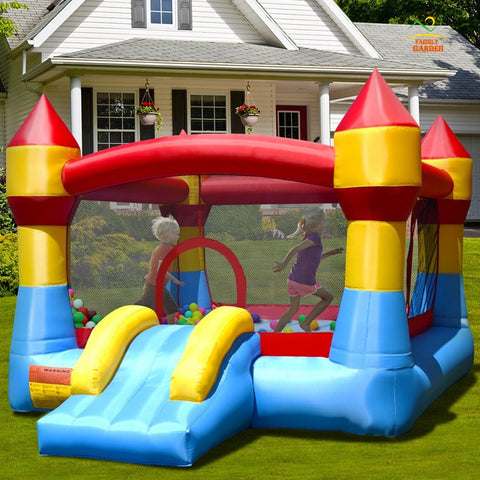 Inflatable Bounce Houses & Water Slides