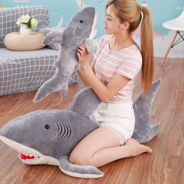 Giant Stuffed Animal Shark Plush Toy - Way Up Gifts