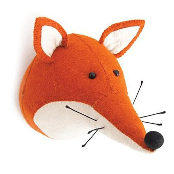 Wall Hanging Felt Animal Head  Giant Plush Toy - Way Up Gifts