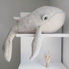 Baby Stuffed Animal Big Whale Plush (Premium Quality)