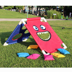 Creative Kids Cornhole Board with 6 Bean Bags