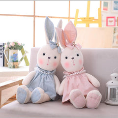 Cute Bunny Rabbit Stuffed Animal Plush Toy Doll